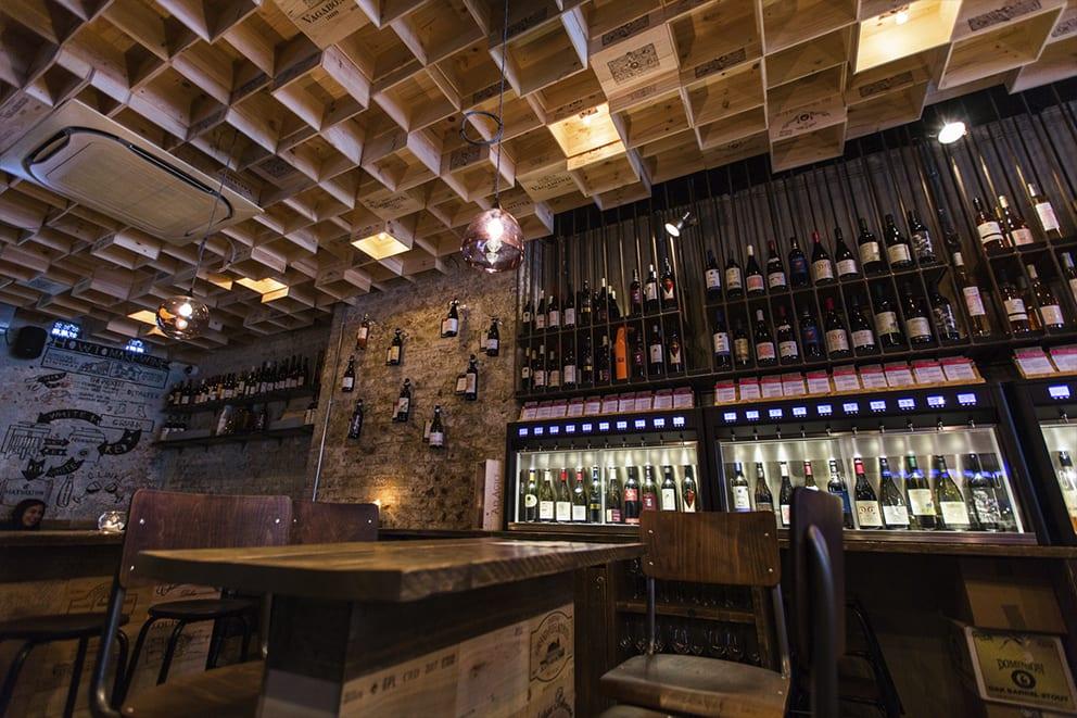 Vagabond Wines Spitalfields 1